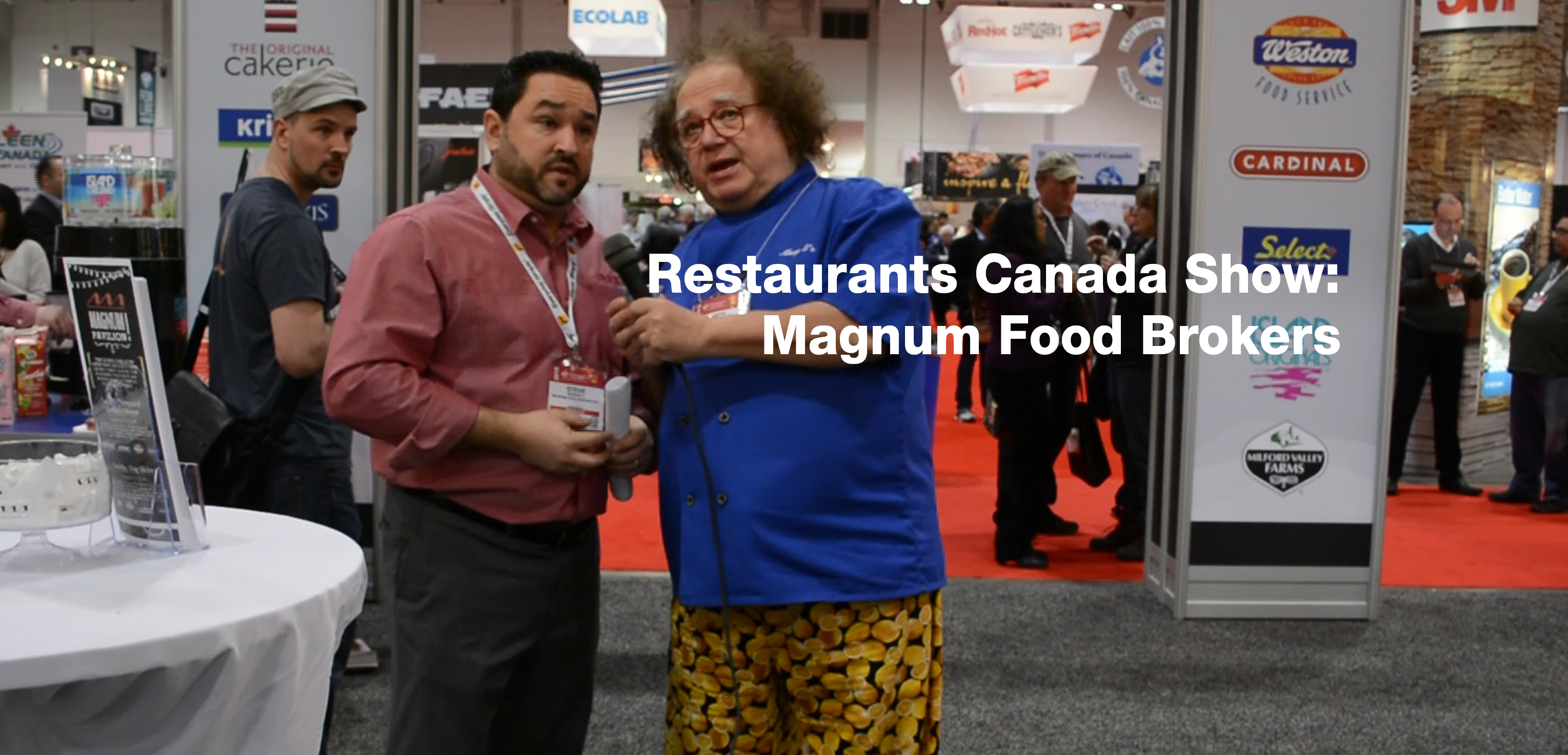Restaurants Canada Show: Magnum Food Brokers