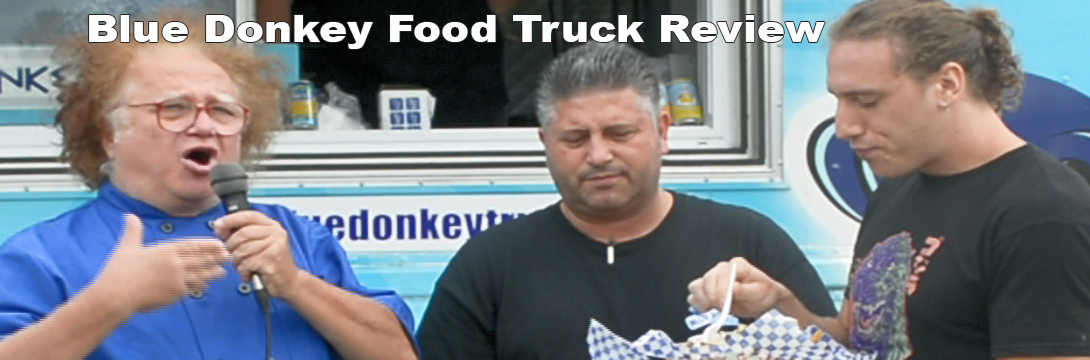 Blue Donkey Food Truck Review Toronto Video